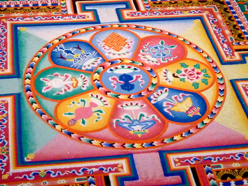Tibetan Sand Mandala Offering @ Valley Spirit Cooperative & Wellness Center | Washington | Connecticut | United States